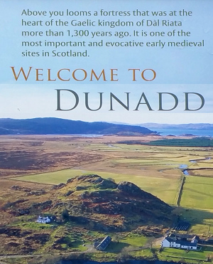 Dunadd Fort - one of the most important medieval sites in Scotland