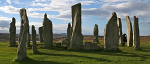 The Callanish Standing Stones in daylight