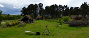 The village at the Highland Folk Museum used to film Rent that you'll visit on your Outlander tour