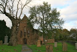 Beauly Priory where Claire went for peace in the Outlander books